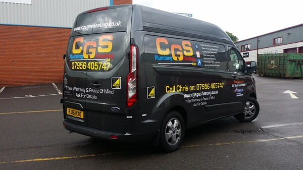 Custom Van Signwriting