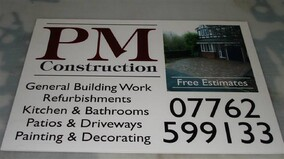 Tradesman Site Signs & Developer Signs