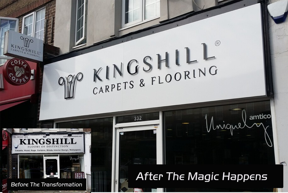 Shop Front Signs & Rebranding